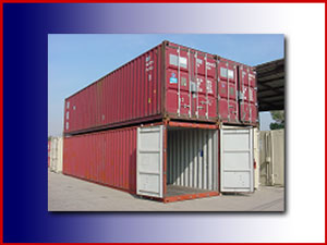 Standard steel containers
